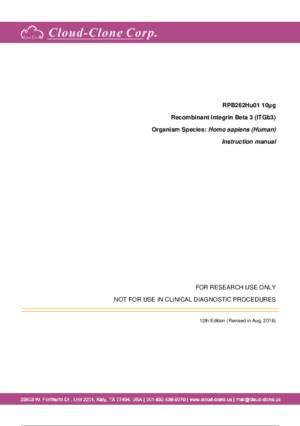 Recombinant-Integrin-Beta-3-(ITGb3)-RPB262Hu01.pdf