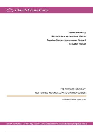 Recombinant-Integrin-Alpha-V-(ITGaV)-RPB282Hu02.pdf