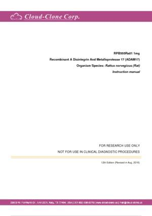 Recombinant-A-Disintegrin-And-Metalloprotease-17-(ADAM17)-RPB555Ra01.pdf