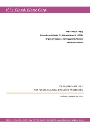 Recombinant-Cluster-Of-Differentiation-32-(CD32)-RPB579Hu01.pdf