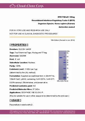 Recombinant-Interferon-Regulatory-Factor-8--IRF8--RPB776Hu01.pdf