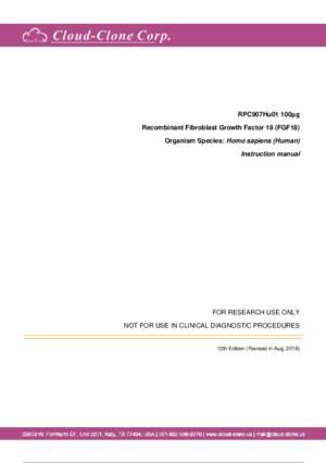 Recombinant-Fibroblast-Growth-Factor-18--FGF18--RPC907Hu01.pdf