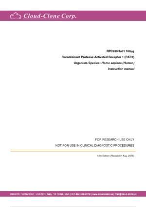 Recombinant-Protease-Activated-Receptor-1-(PAR1)-RPC939Hu01.pdf