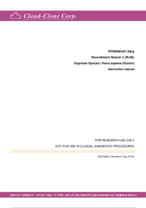 Recombinant-Relaxin-2-(RLN2)-RPD868Hu01.pdf