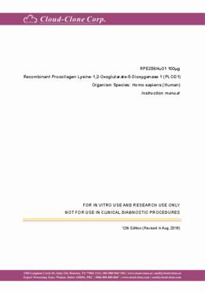 Recombinant-Procollagen-Lysine-1-2-Oxoglutarate-5-Dioxygenase-1-(PLOD1)-RPE256Hu01.pdf