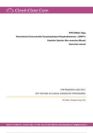 Recombinant-Ectonucleotide-Pyrophosphatase-Phosphodiesterase-1-(ENPP1)-RPF219Mu01.pdf