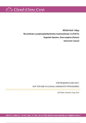 Recombinant-Lysophosphatidylcholine-Acyltransferase-3-(LPCAT3)-RPG531Hu01.pdf