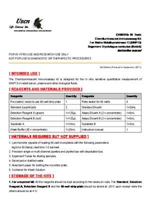 CLIA-Kit-for-Matrix-Metalloproteinase-13--MMP13--C90099Rb.pdf