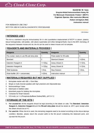 ELISA-Kit-for-Monocyte-Chemotactic-Protein-1-(MCP1)-SEA087Mi.pdf