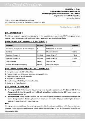 ELISA-Kit-for-Macrophage-Inflammatory-Protein-1-Beta-(MIP1b)-E90093Ga.pdf
