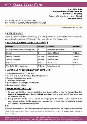 ELISA-Kit-for-Interferon--Beta-(IFNb)-E90222Si.pdf