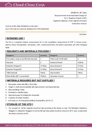 ELISA-Kit-for-C-Reactive-Protein-(CRP)-SEA821Hu.pdf