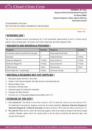 ELISA-Kit-for-Renin-(REN)-SEA889Hu.pdf