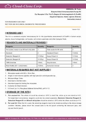 ELISA-Kit-for-Receptor-II-For-The-Fc-Region-Of-Immunoglobulin-E-(FceRII)-SEB582Hu.pdf