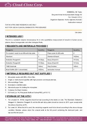 ELISA-Kit-for-Vinculin-(VCL)-SEB839Hu.pdf