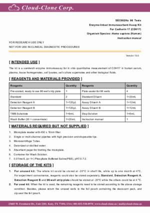 ELISA-Kit-for-Cadherin-17-(CDH17)-SEC002Hu.pdf