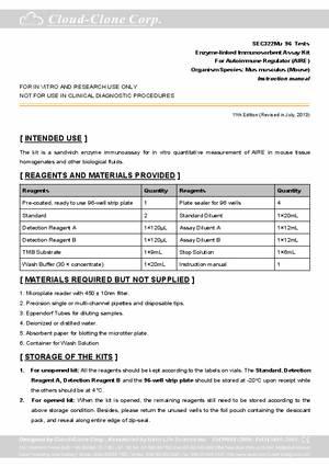 ELISA-Kit-for-Autoimmune-Regulator-(AIRE)-E92322Mu.pdf