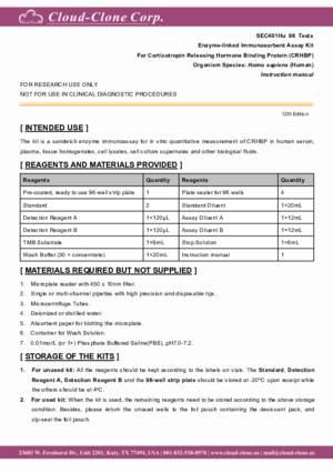 ELISA-Kit-for-Corticotropin-Releasing-Hormone-Binding-Protein-(CRHBP)-SEC401Hu.pdf