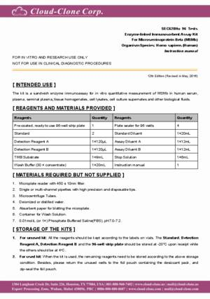 ELISA-Kit-for-Microseminoprotein-Beta-(MSMb)-SEC628Hu.pdf