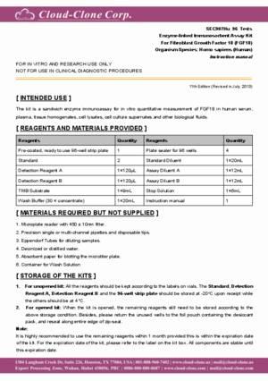 ELISA-Kit-for-Fibroblast-Growth-Factor-18-(FGF18)-SEC907Hu.pdf