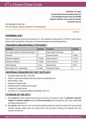 ELISA-Kit-for-Fibroblast-Growth-Factor-20-(FGF20)-SEC912Hu.pdf