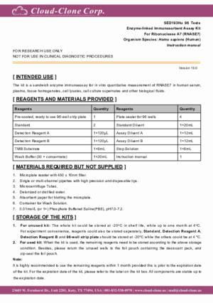 ELISA-Kit-for-Ribonuclease-A7-(RNASE7)-SED193Hu.pdf