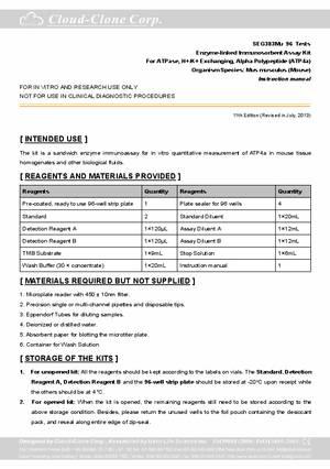ELISA-Kit-for-ATPase--H--K--Exchanging--Alpha-Polypeptide-(ATP4a)-E96383Mu.pdf