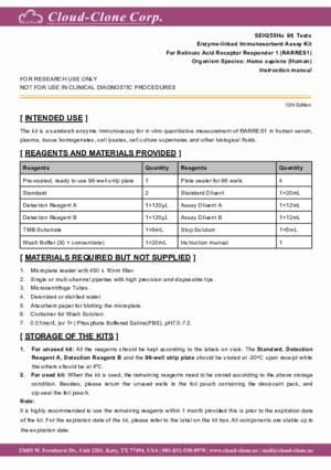 ELISA-Kit-for-Retinoic-Acid-Receptor-Responder-1-(RARRES1)-SEH255Hu.pdf