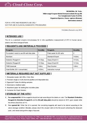 Wide-range-ELISA-Kit-for-Complement-Factor-H-(CFH)-WEA635Hu.pdf